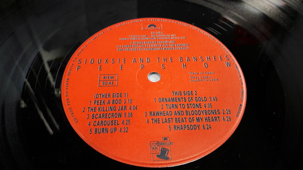 Discos vinilos baratos | Siouxsie And The Banshees: Peepshow, vinilos de Siouxsie And The Banshees, vinilos New Wave, Goth Rock,