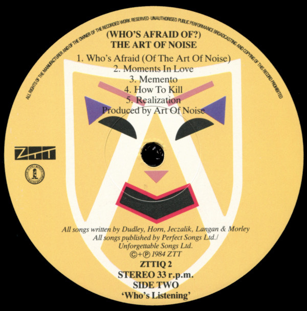 Discos vinilos baratos | The Art Of Noise: (Who's Afraid Of?) The Art Of Noise!, The Art Of Noise, vinilos de The Art Of Noise, venta de vinilos online, discos de vinilo venta, tiendas de discos chile