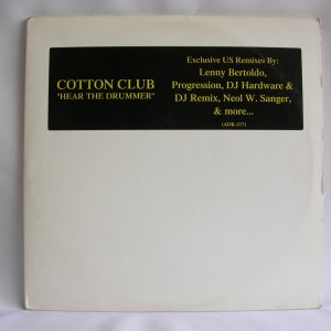 Venta de vinilos online | Cotton Club: Hear The Drummer, Cotton Club, venta vinilos de Cotton Club, discos vinilos baratos, discos de vinilo Chile, discos de vinilo venta