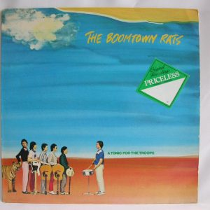 Discos vinilos baratos | The Boomtown Rats: A Tonic For The Troops, vinilos de The Boomtown Rats, discos de The Boomtown Rats, discos de punk rock, venta de vinilos online, discos de vinilo en Chile, discos de vinilo venta