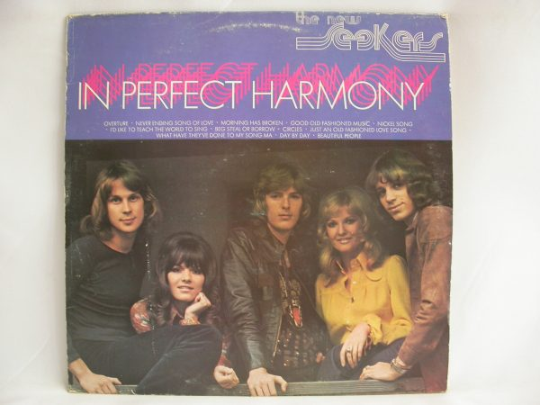 Venta de vinilos online | The New Seekers: In Perfect Harmony, The New Seekers, pop británico, discos de vinilo de pop uk, discos vinilos baratos, discos de vinilo venta, discos de vinilo Chile, venta de vinilos usados, tienda de discos vinilos