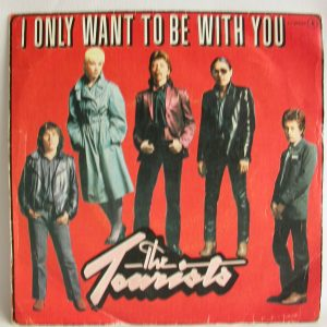 Venta de vinilos online - The Tourists: I Only Want To Be With You, singles baratos de 7 pulgas, vinilos baratos de Pop Rock, singles 7' New Wave, vinilos New Wave, Venta vinilos Chile,discos vinilos baratos, discos de vinilo Chile