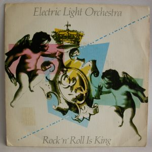 Vinilos bartos de ELO | Electric Light Orchestra, Electric Light Orchestra: Rock 'n' Roll Is King, single 7 pulgadas baratos, singles baratos de Rock, vinilos de rock sinfónico baratos, Venta vinilos Chile, discos de vinilo venta, discos de vinilo Chile, Venta de vinilos online