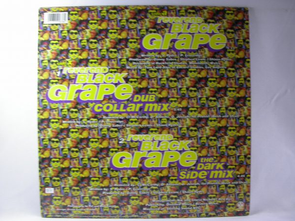 Discos vinilos baratos | Discos de vinilo Chile, Black Grape: Reverend Black Grape, Black Grape Discos vinilos 12' baratos, 12 pulgadas Dub, 12 pulgadas Breaks, vinilos de Dub, vinilos de Breaks