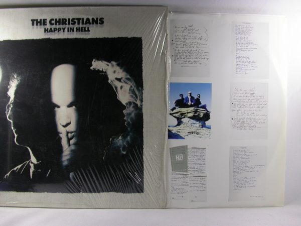 Discos vinilos baratos | The Christians: Happy In Hell, The Christians, venta vinilos The Christians Chile, Venta vinilos Chile, discos de vinilo venta, venta de discos de vinilo, Venta de vinilos online, vinilos pop-rock 80 en Chile, venta vinilos rock Chile