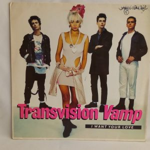 Venta de vinilos de Synth-pop, Venta de vinilos Post-Punk, Venta de vinilos Pop Punk, Rock alternativo - Transvision Vamp – I Want Your Love