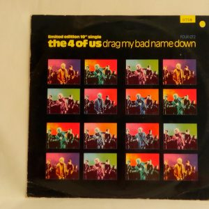 The 4 Of Us – Drag My Bad Name Down | Discos vinilos baratos ,Vinilos en oferta