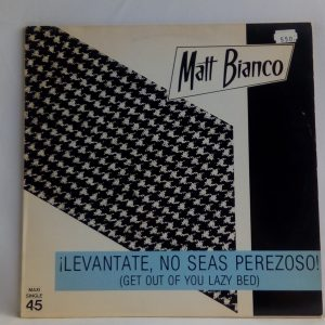 Tienda de discos online | Matt Bianco: Get Out Of Your Lazy Bed | Vinilos en oferta