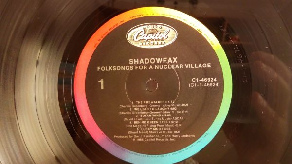 Shadowfax: Folksongs For A Nuclear Village | Venta discos de vinilo de Jazz