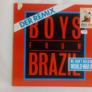 Boys From Brazil: We Don't Need No World War III (Der Remix) | Venta vinilos de New Beat | tienda de vinilos online
