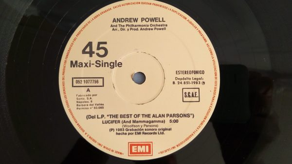 Andrew Powell And The Philharmonia Orchestra: Lucifer (And Mammagama) | Play The Best Of The Alan Parsons