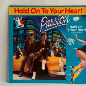 Passion: Hold On To Your Heart | vinilos de pop