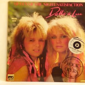 Dollie De Luxe: Queen Of The Night / Satisfaction | Venta discos 12 pulgadas Pop-Rock