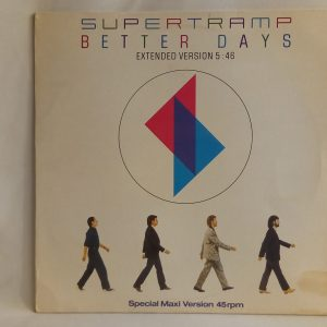 Supertramp: Better Days | Venta de vinilos de Art Pop - CHILE