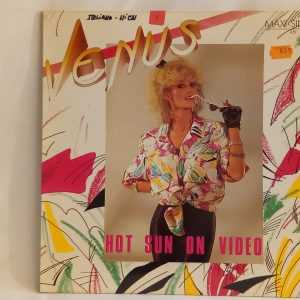 Venus: Hot Sun on Video | Venta discos de vinilo de Euro-Disco CHILE