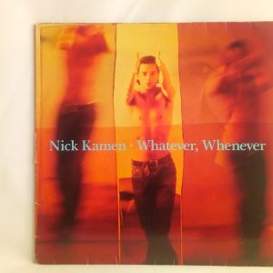 Nick Kamen: Whatever, Whenever | Venta discos de vinilo de pop-rock 90's /CHILE